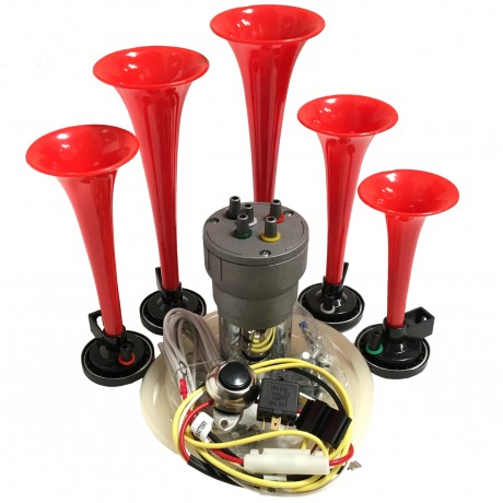 La Cucaracha Automotive Air Horn - Complete Kit