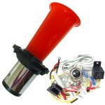 Ooga Red Automotive Air Horn - Complete Kit