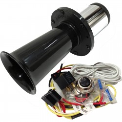 Ooga Black Automotive Air Horn - Complete Kit