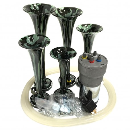 Dixie Camouflage Automotive Air Horn - Horn Only
