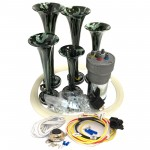 Dixie Camouflage Automotive Air Horn - Complete Kit