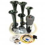 Dixie Camouflage Automotive Air Horn - Complete Kit