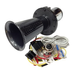 Ooga Carbon Automotive Air Horn - Complete Kit
