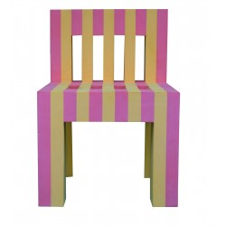 KIDS CHAIR SMALL PINK/ORANGE