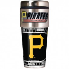 Pittsburgh Pirates Travel Mug 16oz Tumbler with Logo