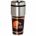 Cleveland Browns Stainless Steel Tumbler Mug