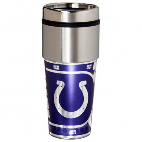 Indianapolis Colts Stainless Steel Tumbler Mug