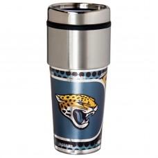 Jacksonville Jaguars Stainless Steel Tumbler Mug