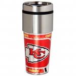 Kansas City Chiefs Stainless Steel Tumbler Mug