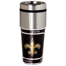 New Orleans Saints Stainless Steel Tumbler Mug