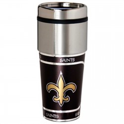 New Orleans Saints Stainless Steel Tumbler Mug