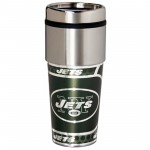 New York Jets Stainless Steel Tumbler Mug