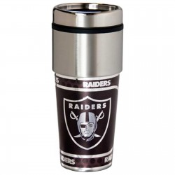 Oakland Raiders Stainless Steel Tumbler Mug