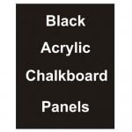 "18"" x 24"" Matt Acrylic Chalkboard Replacement Panel"