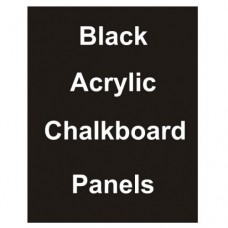 "24"" x 36"" Matt Acrylic Chalkboard Replacement Panel"