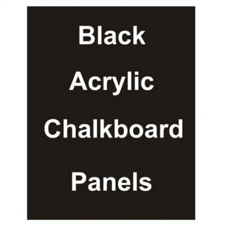 "24"" x 32"" Matt Acrylic Chalkboard Replacement Panel"