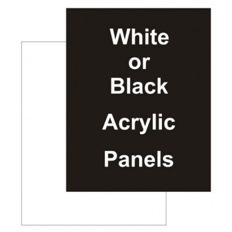 "18"" x 24"" Acrylic White Replacement Panel"