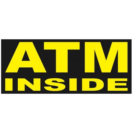 ATM Inside 2.5' x 6' Vinyl Business Banner