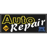 Auto Repair 2.5' x 6' Vinyl Business Banner