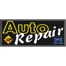Auto Repair 2.5' x 6' Vinyl Business Banner