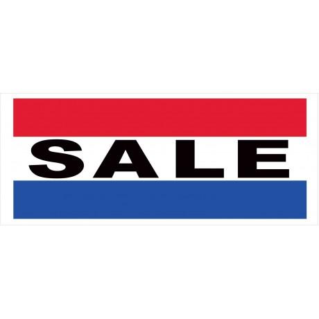 Sale 2.5' x 6' Vinyl Business Banner
