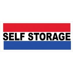 Self Storage 2.5' x 6' Vinyl Business Banner