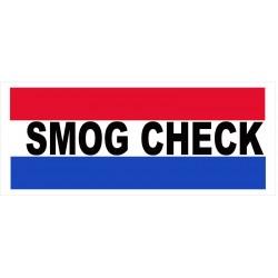 Smog Check 2.5' x 6' Vinyl Business Banner