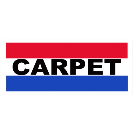 Carpets 2.5' x 6' Vinyl Business Banner
