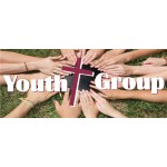 Youth Group 2.5' x 3' Vinyl Church Banner