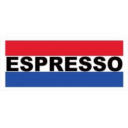 Espresso 2.5' x 6' Vinyl Business Banner