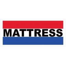 Mattress 2.5' x 6' Vinyl Business Banner