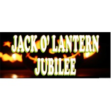 Jack O' Lantern Jubilee 2.5' x 6' Vinyl Business Banner
