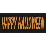 Happy Halloween 2.5' x 6' Vinyl Business Banner