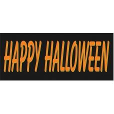 Happy Halloween 2.5' x 6' Vinyl Business Banner