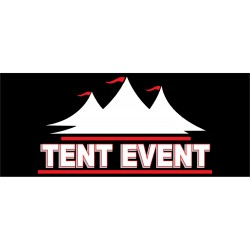 Tent Event 2.5' x 6' Vinyl Business Banner