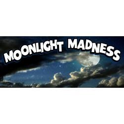 Moonlight Madness 2.5' X 6' Vinyl Business Banner