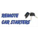 Remote Car Starter 2.5' x 6' Vinyl Business Banner