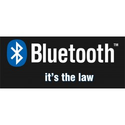 Bluetooth Hands Free 2.5' x 6' Vinyl Business Banner