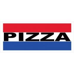 Pizza 2.5' x 6' Vinyl Business Banner