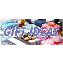 Holiday Gift Ideas 2.5' x 6' Vinyl Business Banner