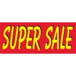 Super Sale Bright 2.5' x 6' Vinyl Business Banner