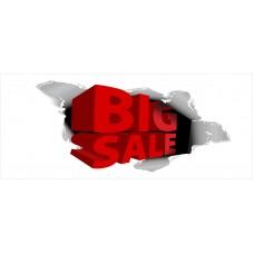 Big Sale 2.5' x 6' Vinyl Business Banner