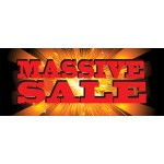 Massive Sale 2.5' x 6' Vinyl Business Banner