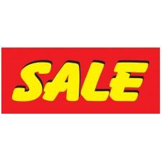 Sale Bright 2.5' x 6' Vinyl Business Banner