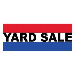Yard Sale 2.5' x 6' Vinyl Business Banner