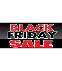 Black Friday Sale 2.5' x 6' Vinyl Business Banner
