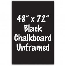 "48"" x 72"" Unframed Black Chalkboard Sign"
