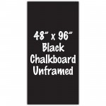 "48"" x 96"" Unframed Black Chalkboard Sign"