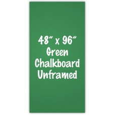 "48"" x 96"" Unframed Green Chalkboard Sign"