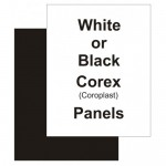 "18"" x 24"" Correx White Replacement Panel"